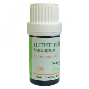 Петитгрейн мандарин (Citrus reticulata) organic