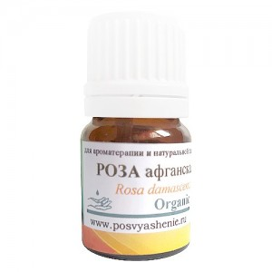 Роза Афганская (Rosa damascena) organic